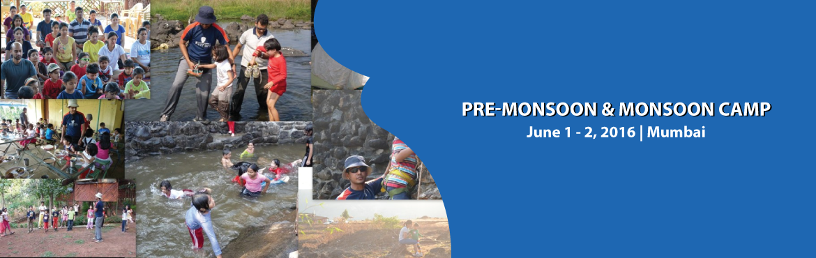 Book Online Tickets for Pre-Monsoon and Monsoon Camp, Mumbai. Pre-Monsoon & Monsoon Camp Fun with your kids in the outbound environment --- Let\'s have fun with your toddlers / kids in the lap of mother nature ...enjoy activities like Burma Bridge Zip Line Slithering Raft Building & Raft Racing let\'s m