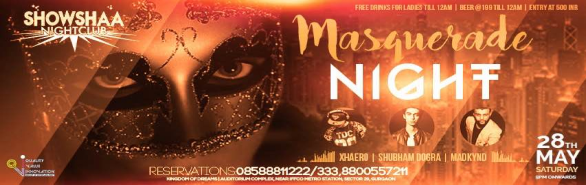 Masquerade Night with our 3 Artists