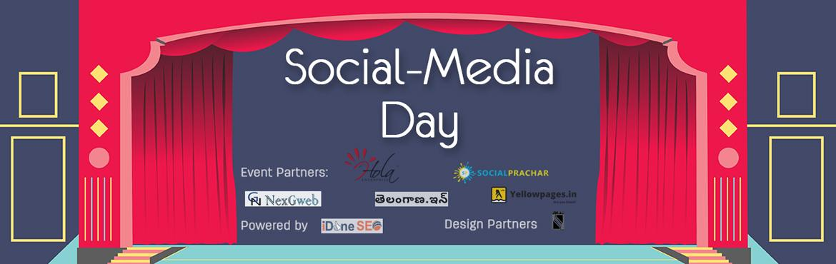 Book Online Tickets for Social Media Day - 2016, Hyderabad. Join us for the Social Media Day on June 30th, at Lamakaan, Hyderabad Today Social media is everywhere.Platforms such as Facebook, Google Plus, Linkedin, Twitter, YouTube, Pinterest, etc digital channels have revolutionized the way we communicate wit