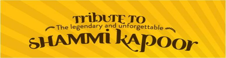 Book Online Tickets for Tribute to Shammi Kapoor , Bengaluru. Live Music Concert with singer Biju Nair and his troupe.