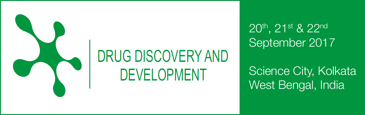 Book Online Tickets for World Congress on Drug Discovery and Dev, Kolkata. The Drug Discovery & Development-2017 conference brings together a host of senior level experts to discuss recent developments in the industry and debate the best strategies and solutions to improve drug discovery going forward. The conference wi