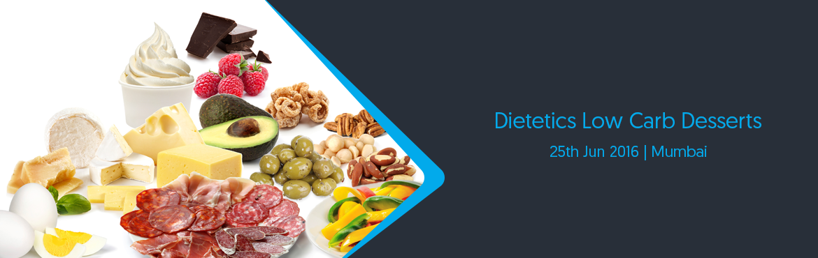 Book Online Tickets for Dietetics Low Carb Desserts, Mumbai. Is your sweet tooth a perpetual nag? Are your dietary restrictions preventing you from savouring the desserts you want to indulge in? You\'re in luck because this class, specially designed for diabetics, will teach you the ropes on creating scrumptio