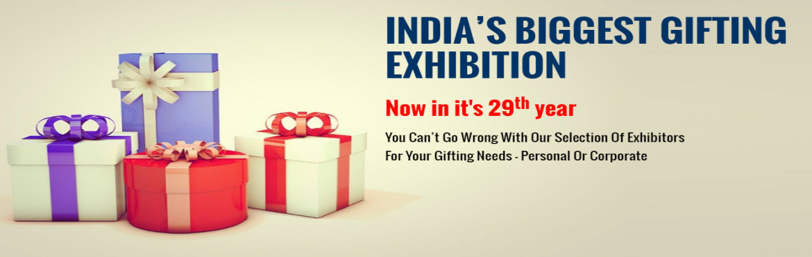 Book Online Tickets for Giftex 2016, Mumbai. Giftex :- India\'s largest exhibition on corporate gifts will be held at Nehru Centre from 29th July to 1st Aug 2016. Now in its 29th year, Giftex is the most cost effective method of reaching out to a qualified audience of corporate gift buyers and