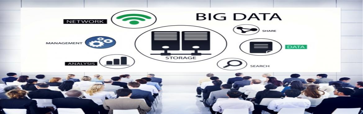 Book Online Tickets for Big Data One Day Training, Chennai.   The growing need of Big Data Specialist has proliferated across all industries. Companies now seek candidates with big data expertise to head their analytics team. Tools such as Hadoop, MapReduce are amongst the highly adopted tools in the mar