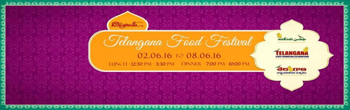 Book Online Tickets for Telangana Food Festival - Dinner Buffet, Hyderabad. Hotel Daspalla wishes everyone a Happy Telangana Formation Day! Telangana is a land of great heritage and culture. Food has always been an integral part of that culture.  Smt. S R Anjamma, her sister Smt. Aruna and Mr. Sai Charan (Aruna Son) who