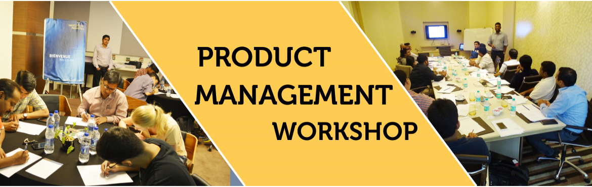 Book Online Tickets for 3 Days Product Management Workshop In De, NewDelhi.  PIA product management workshop is an immersive 3 day program crafted by top practitioners in the field with a specific to help you transition as a successful product manager. During this workshop, you will live the life of a product manager s