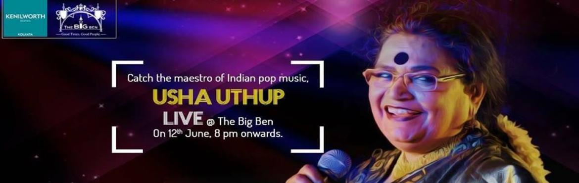 Usha Uthup Live@ The Big Ben, Kenilworth Hotels
