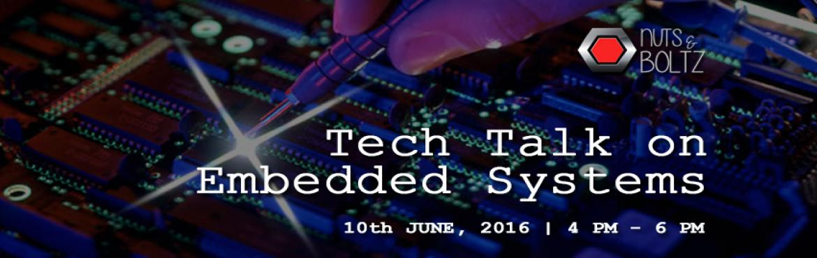 Book Online Tickets for Tech Talk on Embedded Systems, NewDelhi. In today's digital world humans cannot perform modern tasks without technology. It is compulsory that every individual need an electronic gadget which contains a processor running along with a piece of code. What is the impact of embedded syste