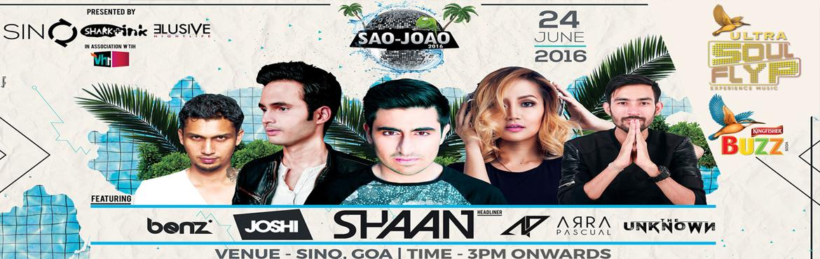 THE SAOJOAO 2015 | 3rd Editon Elusive Nightlife and Shark  Ink together brings you the most vibrant Sanjoao party.