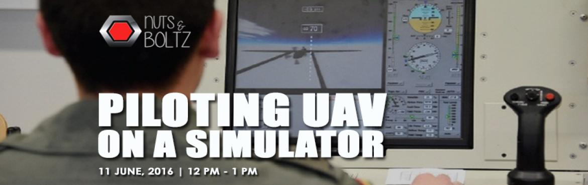 Piloting UAV on a Simulator