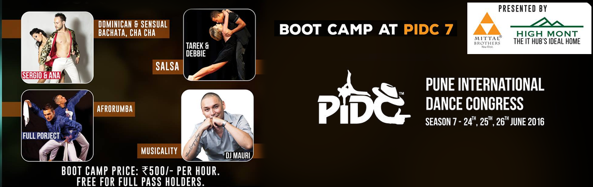 Book Online Tickets for PUNE INTERNATIONAL DANCE CONGRESS, Pune. Live to dance , dance to live a golden chance to learn from the world\'s best international artists. amazing fun and learn workshops and boot camps.  a chance to watch your mentors perform and an opportunity for you to practice the moves you lea