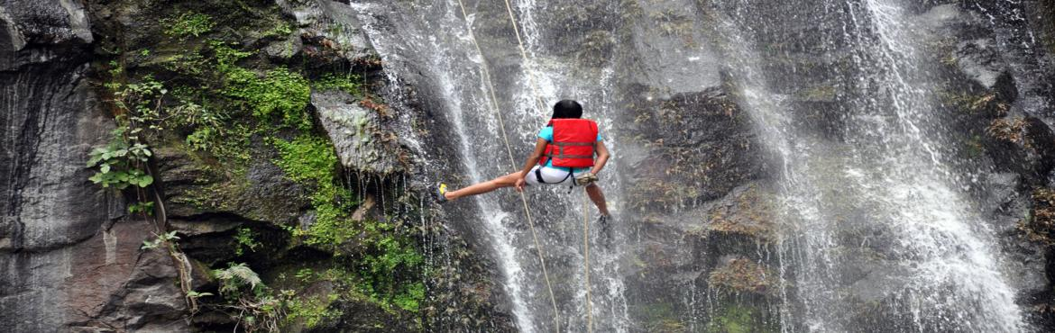Book Online Tickets for Panshet Waterfall Rappelling, Panshet. About The Event  Head for an amazing waterfall rappelling session with your loved ones in Panshet and revel in the fun and happiness of nature! Imagine strong, clear water rushing down your body as your struggle on a rope from which you are harnessed