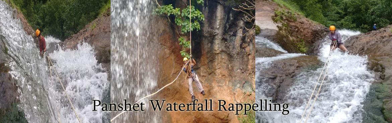 Panashet Waterfall Rappelling