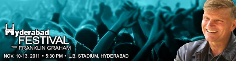 Book Online Tickets for Hyderabad Festival with Franklin Graham, Hyderabad. Franklin serves as president and CEO of the Billy Graham Evangelistic Association and the international relief and evangelism organization Samaritan's Purse—respected not-for-profit organizations with combined annual budgets of more than