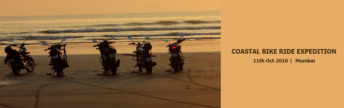 COASTAL BIKE RIDE EXPEDITION On 11th 15th October 2016 with MUMBAI TRAVELERS