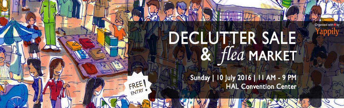 Declutter Sale and Flea Market by Yappily
