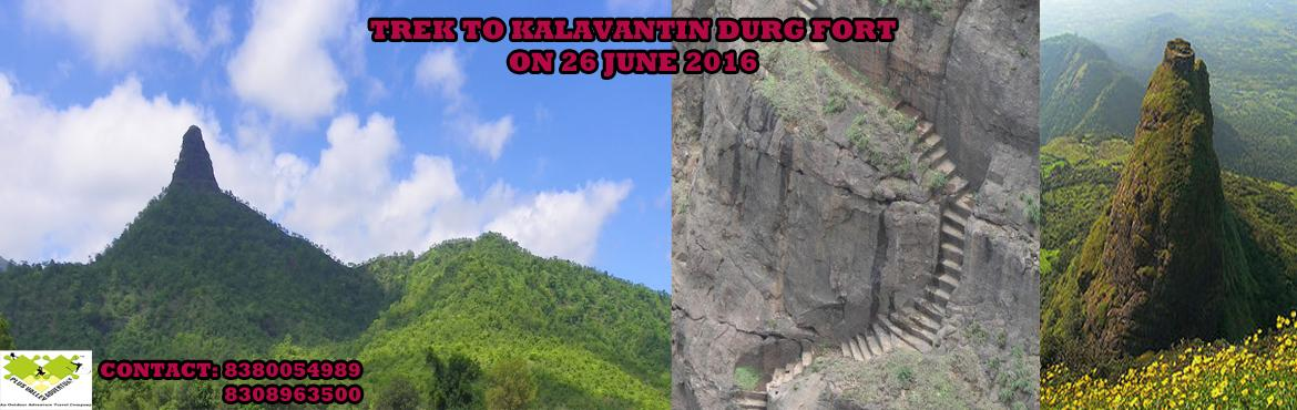 Trek to kalavantin Durg