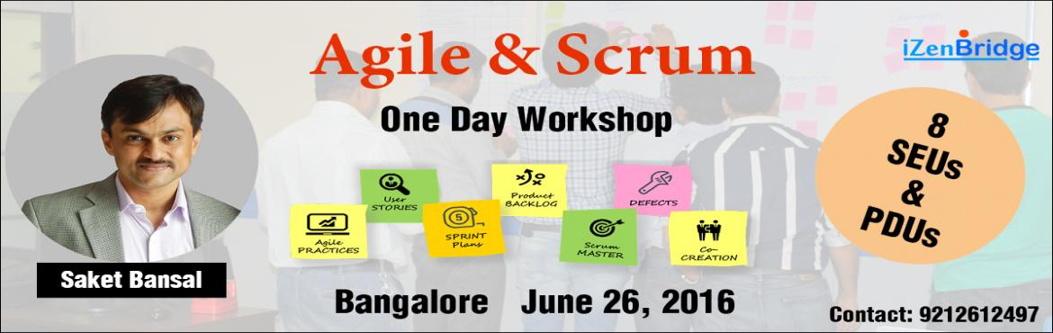 Scrum and Agile workshop in Bangalore
