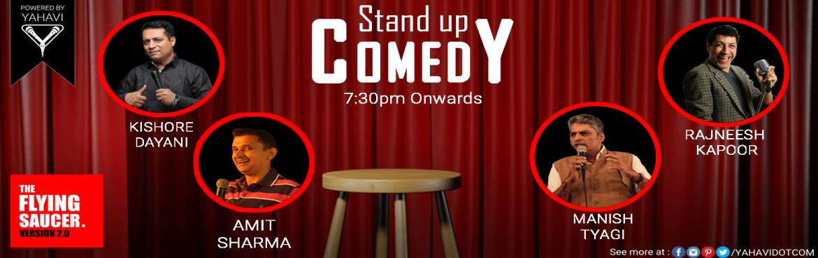 Stand Up Comedy at Flying Saucer Cafe, Nehru Place