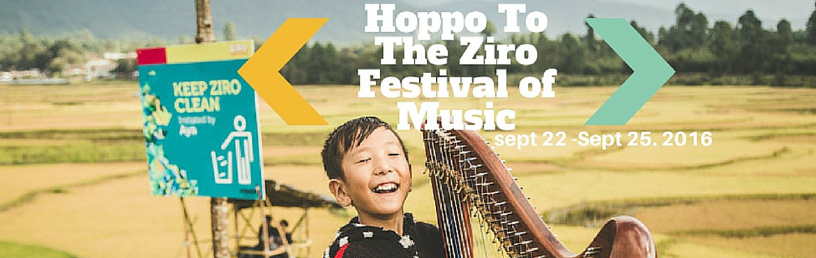 Book Online Tickets for ChaloHoppo to Ziro Festival of Music 201, Ziro. ChaloHoppo invites you to a valley that turns Golden in September!    A valley that remains quiet throughout the year and lights up in September to host what simply is a unique outdoor music festival. There are no superlatives that mark this fes