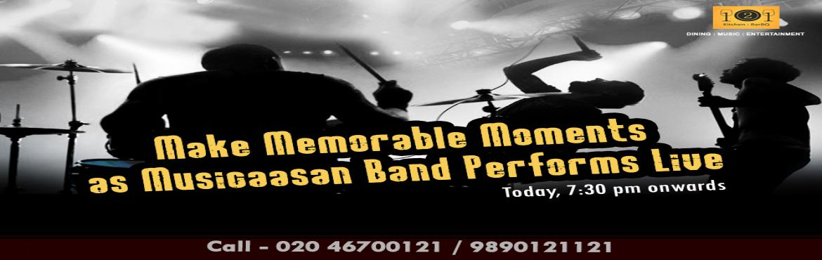 Wakad music events by Musicaasan Band at 121 Kitchen : BarBQ