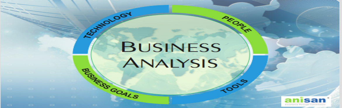 Certified Business Analyst Training at ANISAN Technologies Inc