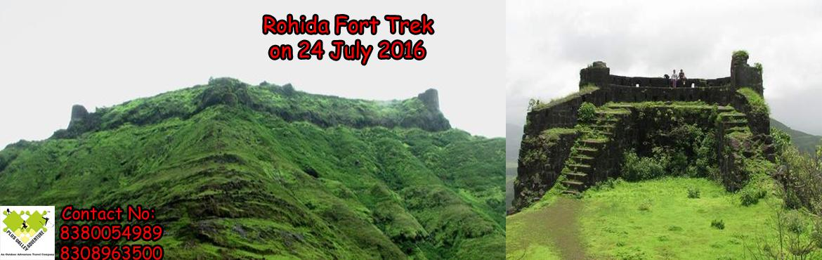 Book Online Tickets for Trek To Rohida Fort, Bhor. About The Event    Rohida Rohida or Vichitragad is a fort situated about 15 km from Bhor village. It is one of the south most forts in Pune district. Rohida is barren in summer or winter but with monsoon it is filled with lush green grass.R
