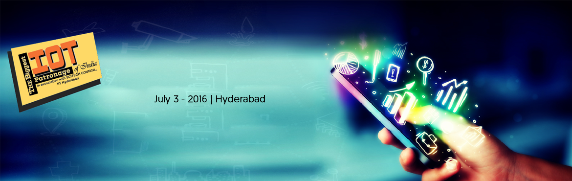 Book Online Tickets for The Biggest IoT Patronage of India, Hyderabad. TBIP 2017 is a three stage event by SCITECH COUNCIL, IIT Hyderabad & TechTrunk Ventures Pvt. Ltd. which involves 65 hours intensiv training & mentorship, Ideas Competition at the end on third stage prizes, investment & internships for mor
