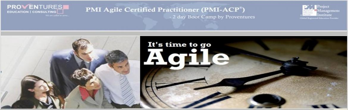 Book Online Tickets for ACP Preparation Workshop from Proventure, Hyderabad. PMI Agile Certified Practitioner (PMI-ACP®) Agile is a topic of growing importance in project management. The marketplace reflects this importance, as project management practitioners increasingly embrace agile as a technique for managing success