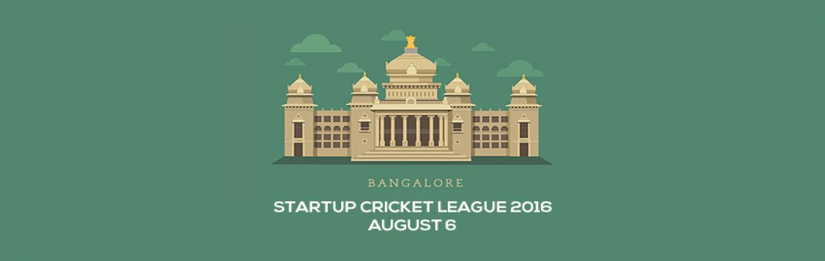 Startup Cricket League 2016- Bangalore