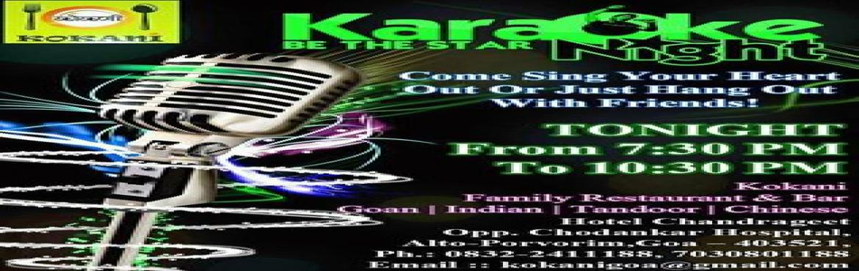 Book Online Tickets for Karaoke Night @ Kokani, ALTO PORVO.