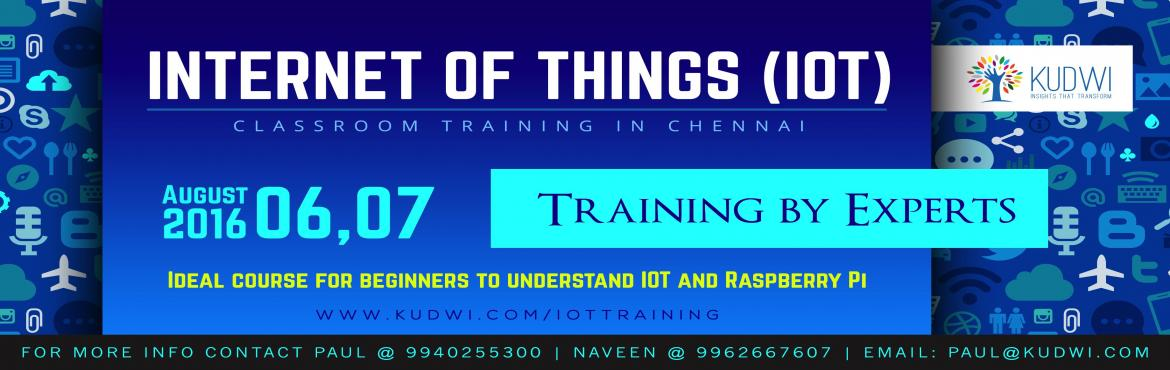 Internet of Things (IOT) Classroom Training in Chennai