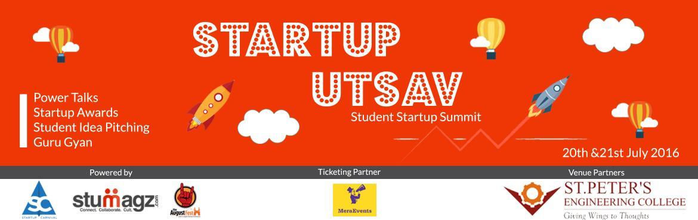 Startup Utsav - Student Startup Summit 2016.