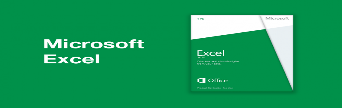 Book Online Tickets for Microsoft Excel 2013 Advance Level  Cert, Ahmedabad. ABOUT THE COURSE:  Working with Workbooks: Changing the default file format for saving files; Open files automatically when starting excel; Auto Save & Recover workbooks  • Entering / Editing data in a worksheet: Selecting non contiguous ran