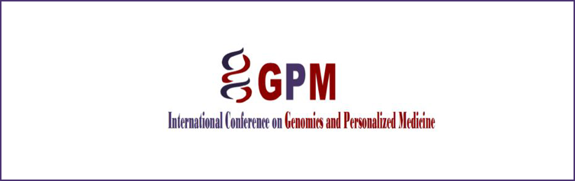 The International Conference on Genomics and Personalised Medicine - 2017