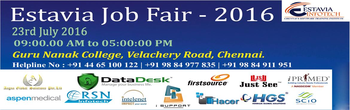 Estavia Job Fair 2016