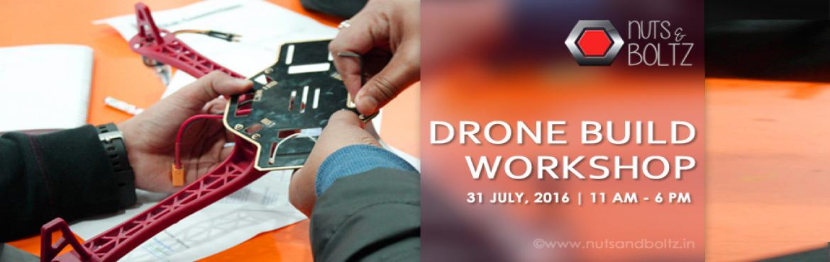 Book Online Tickets for Drone Build Workshop, NewDelhi. COURSE OUTLINE: Why buy when you can build? 'Drone Build' is great for enthusiasts who would like to jump into making UAV/Quad copter/Drone. Quadcopter, also called a Quadrotor helicopter, is a rotary-wing aircraft with four rotors which