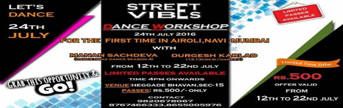 Dance workshop Street vibes