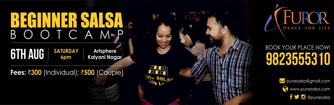 Book Online Tickets for Beginner SALSA bootcamp by Furor - AUGUS, Pune. It is THE MOST fun packed, fast and effecient way to start dancing salsa .....   ----------------------------------------------------- Every two months FUROR pune  dedicates an hour ( or more :p)  to getting your feet grooving to the r