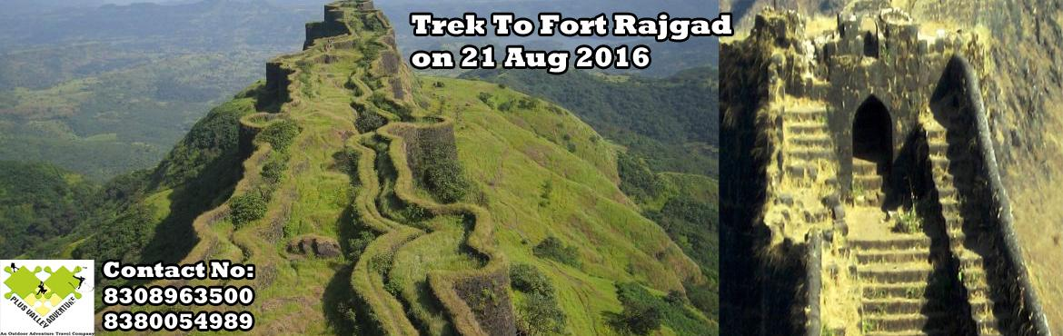 Book Online Tickets for Trek to Fort Rajgad , Pune. Rajgad (literally meaning Royal Fort) is one of the forts in the Pune district of Maharashtra state in India. The fort is around 1,400 m (4,600 ft) above sea level. Formerly known as Murumdev, it was capit