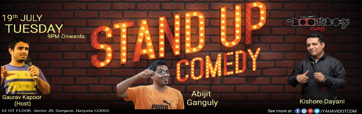 Stand Up Comedy at Boombox, Gurgaon