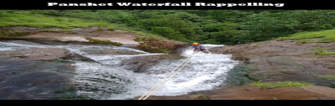 WATERFALL RAPPELLING AT PANSHET 23 JULY 2016