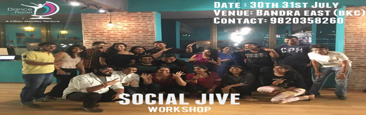 Book Online Tickets for Social Jive Intensive Workshop copy, Mumbai. Jive knows no AGE so what\'s stopping you! Join us for the next workshop on the 30th and 31st of July! Time: 7-9pm Fees: 1500 per person    Contact : 9820358260!