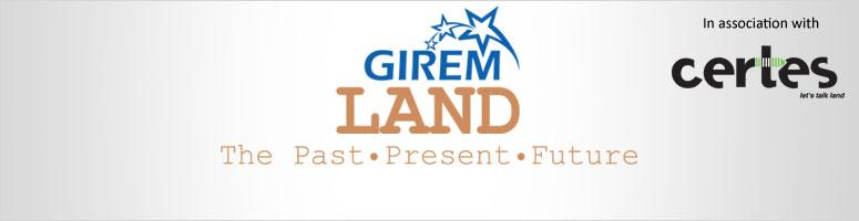 Book Online Tickets for GIREM Land: The Past, Present, Future, NewDelhi. GIREM once again is leading from the front, time to discuss and share views on hot topic of LAND.