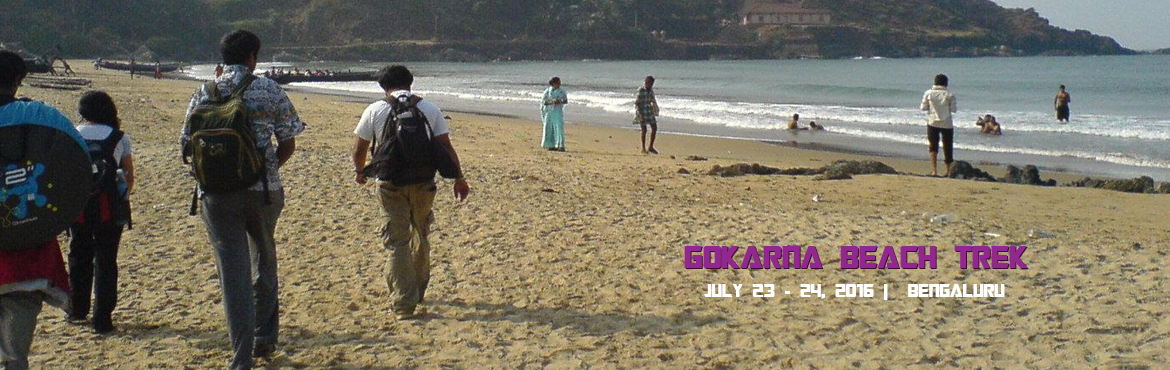 Book Online Tickets for Gokarna Beach Trek, Bengaluru. GOKARNA BEACH TREK   Gokarna, which means the cow's ear, is a holy site located on the Karavali Coast nestled between the rivers of Agnashini and the Gangavali. The centre is known for housing the famous Shiva Temple where the 'Aatma