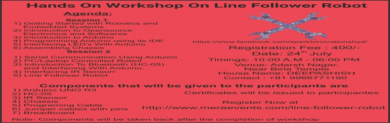 Workshop On Line Follower Robot