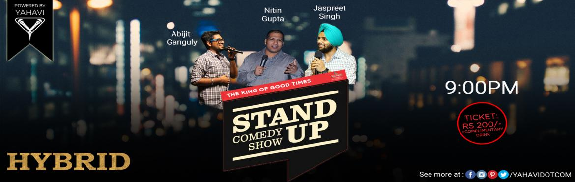 Stand Up Comedy at Hybrid, Janpath