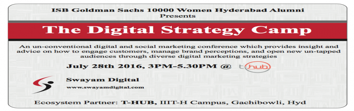 ISB-GS 10000 Women Alumni committee present Digital Strategy Camp