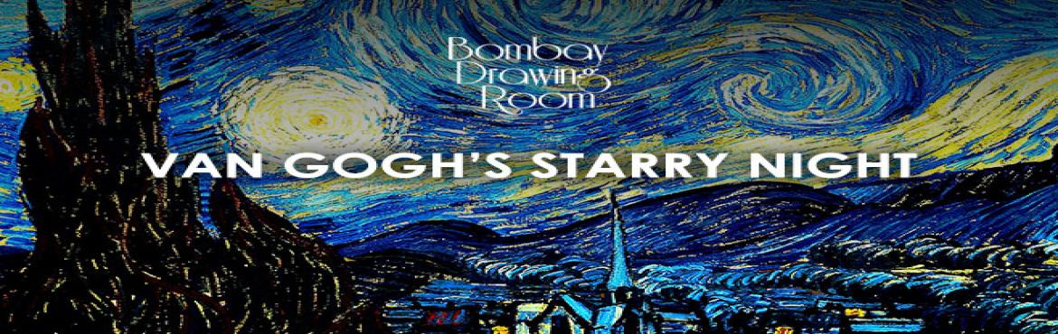 Book Online Tickets for Van Goghs Starry Night, Mumbai.  ABOUT      With its enthralling swirls, intoxicating composition, and enchanting color palette, Vincent van Gogh\'s The Starry Night is one of the world\'s most beloved and well-known works of art.Discover the artist in you as you re-create your own
