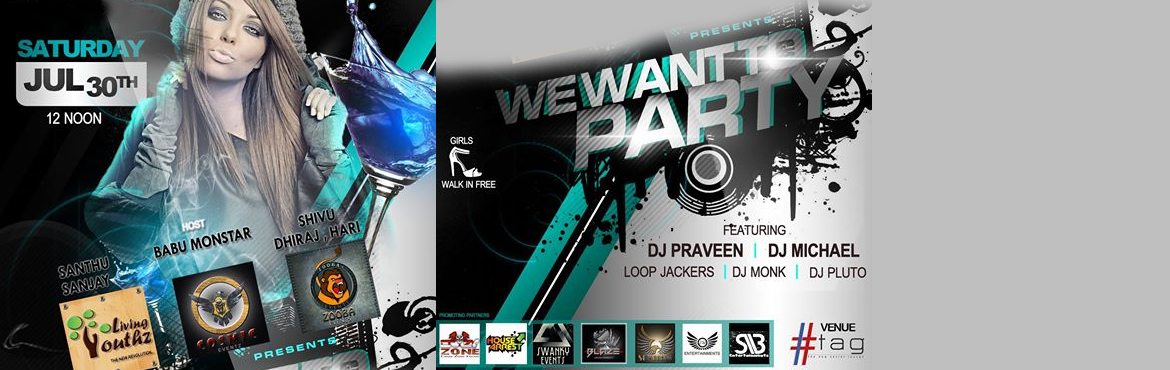WE WANTOO PARTY